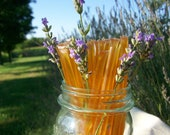 Honey Sticks - Lavender Infused Honey - 25 honey filled straws