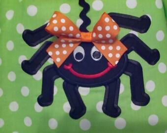 Silly SpiderMachine Applique Design