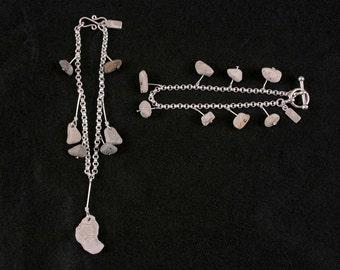Stonewear - Sterling silver Rock Bracelet