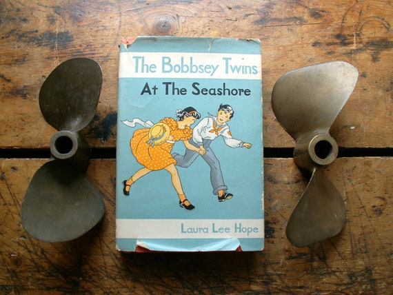 The Bobbsey Twins at the Seashore Vintage Book