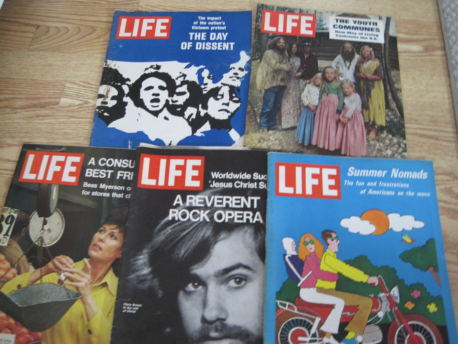 LIFE Magazines 1960 LOT three (3) Princess Margaret Yvette Mimieux Billy Graham