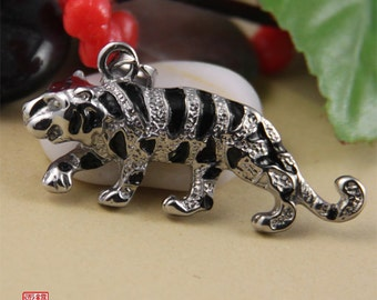 Tiger Stainless Steel Pendant