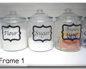 FREE SHIPPING Custom Framed Jar Label
