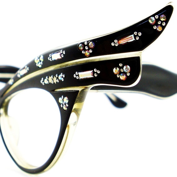 RESERVED Vintage Glasses Cat Eye Eyeglasses Sunglasses Glasses New Frame