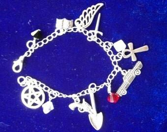 Supernatural Inspired 'Mary Winchester' Charm Bracelet