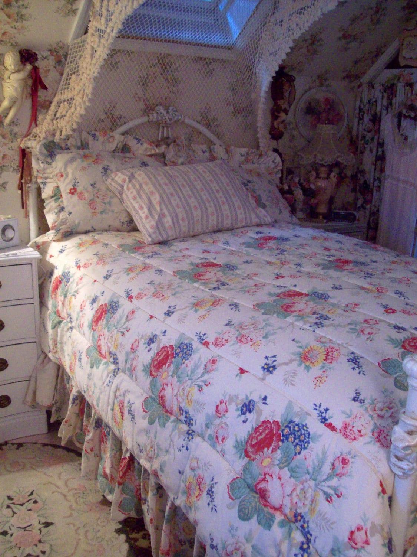 Reserved For Pam Vintage Ralph Lauren Sheets Bedding Comforter