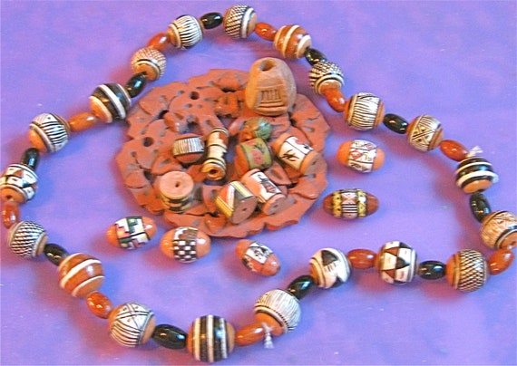 Take 20% Off  55 Vintage SW Clay & Ceramic BEAD Collection