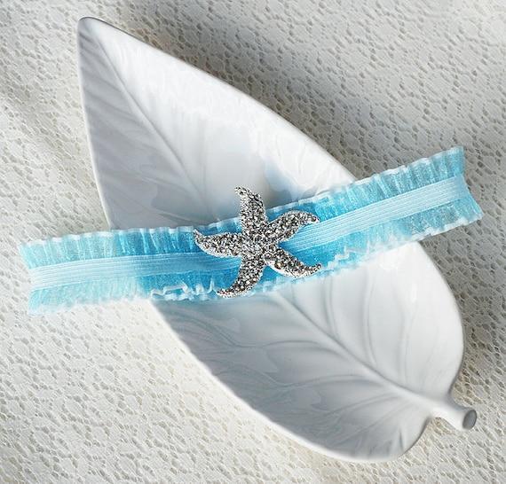 Beach Wedding Garter: Wedding Garter Bridal Garter TURQUOISE BLUE Garter Set Lace