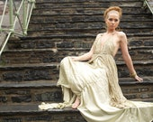 SALE     ....High fashion couture wedding,victorian,goddess dress.Before 400 dollars,NOW 200 dollars