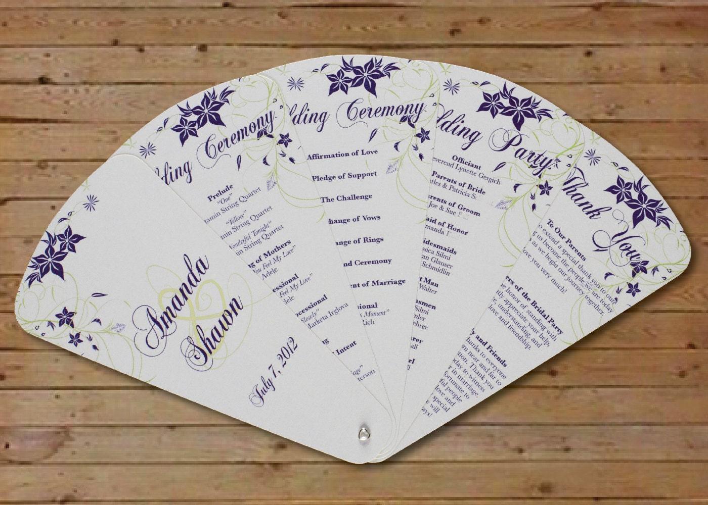 Hand Fan Wedding Favors - cfapreparation.info
