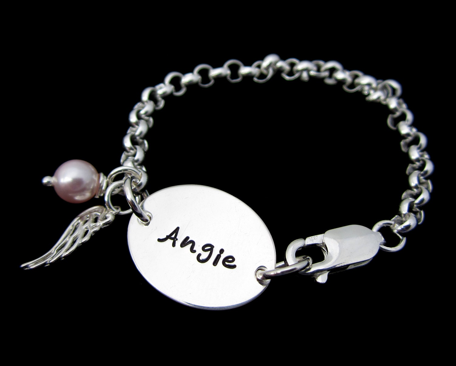 items similar to personalized bracelet charm