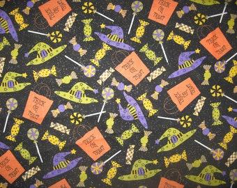 Joann Fabrics Halloween glitter fabric 1 yard