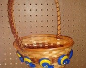 St Louis Rams Football Helmet Wicker Basket - Sports Theme Storage Bin or Container