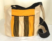 Summer Black and Yellow Big Bag with Hoppediz Havana - kangala