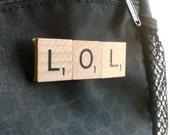 LOL Scrabble Pin - Scrabble Tile Accessory