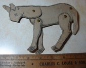 Vintage Quilt Template-Jointed Animal-Donkey- Lancaster Co, Pa Dutch  -Sewing Supplies