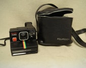 Vintage Polaroid SX70 Time Zero One Step Instant Camera with Case Tested and Working Use Impossible Project Films
