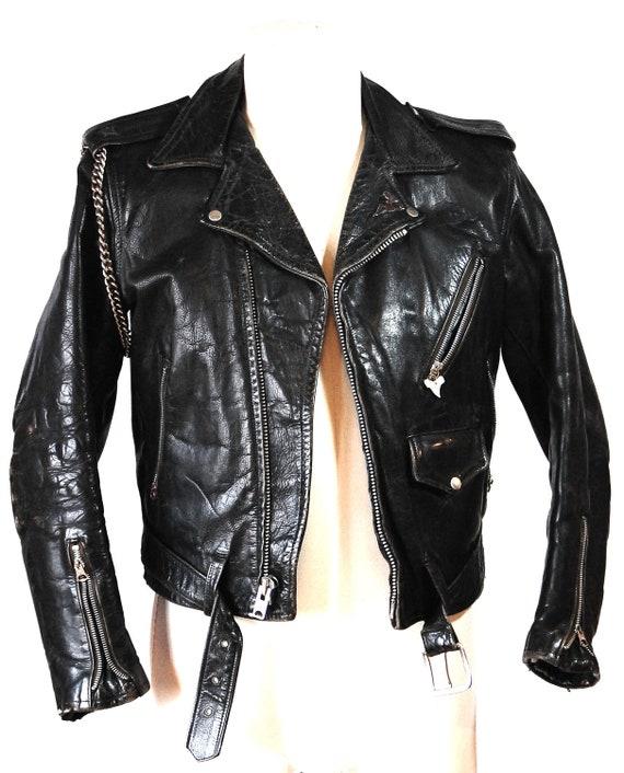 Rugged Fall Bomber Jacket | Fall Leather Jackets