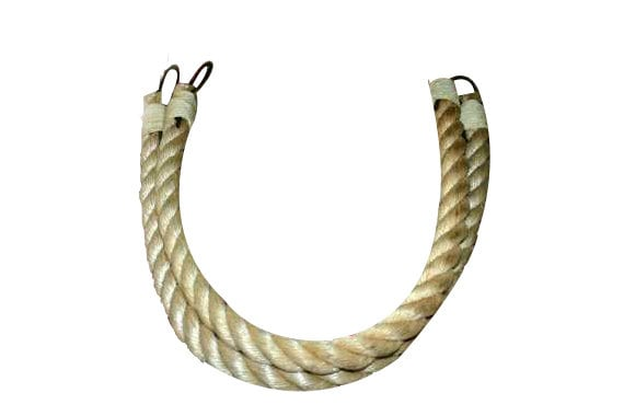 Items similar to chunky rope curtain tie backs large for Large nautical rope