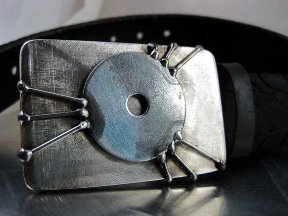 Teleporter Belt Buckle - Stainless Steel