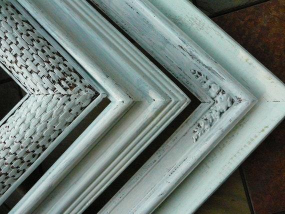 FRAMES / Set of 4 / Shabby Chic / White Frames / Cottage Chic / Wedding Decor / Home Decor
