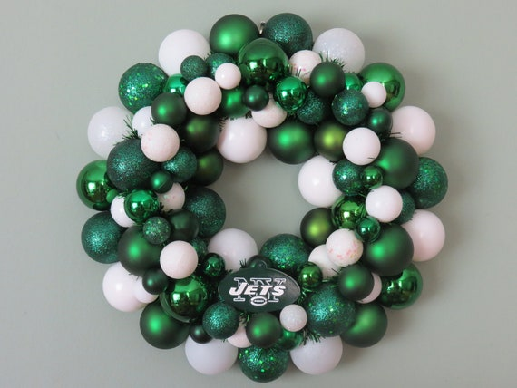 NEW YORK JETS Ornament Wreath