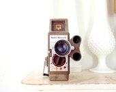 Antique Movie Camera 1950s Working 8mm Film Camera Bell and Howell