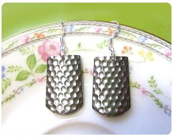 Jenna Spoon Earrings, Upcycled, Repurposed, Spoon Jewelry