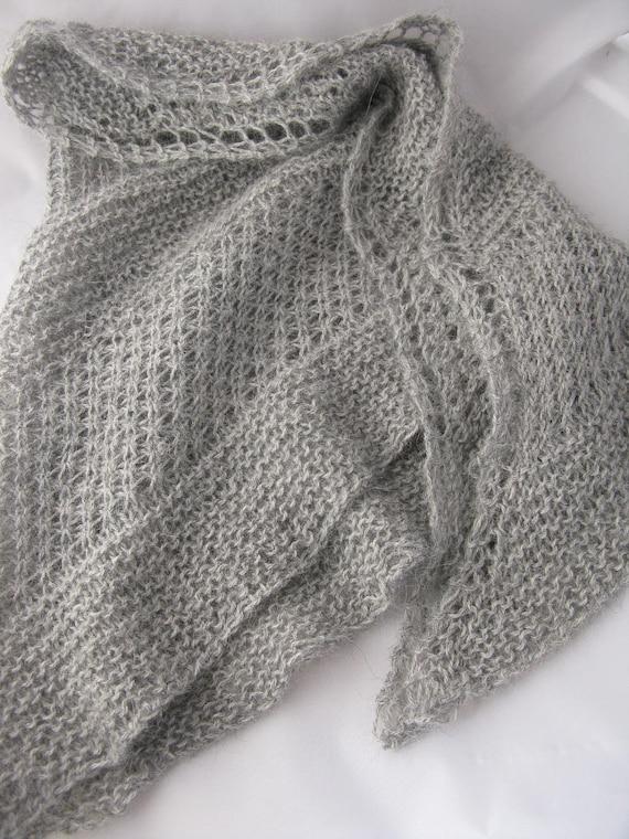 KNITTING PATTERN Star Stitch Shawl Pdf / Shawl Knitting ...