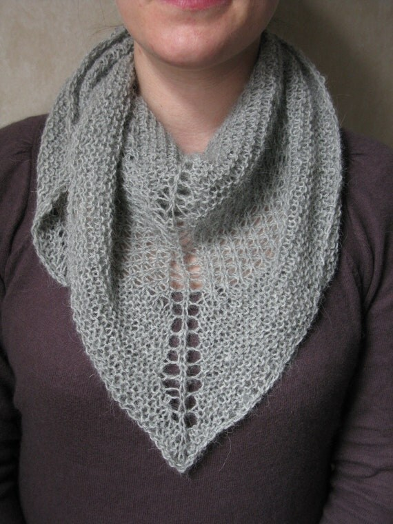 KNITTING PATTERN Star Stitch Shawl Pdf / Shawl Knitting ...