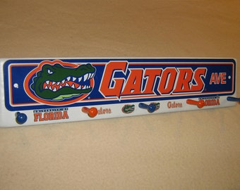 "Florida "" Gators "" coat rack "" hangup """
