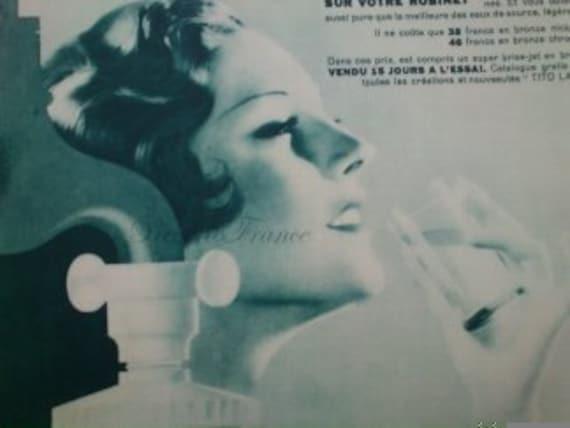 Original Vintage Art Deco French Ad - Tito Landi Water Filter 1930