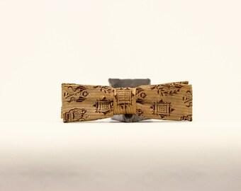 Kids Print Bow Tie // Evergrip Jr // Vintage // 4115