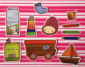 Toys Sticker Pack