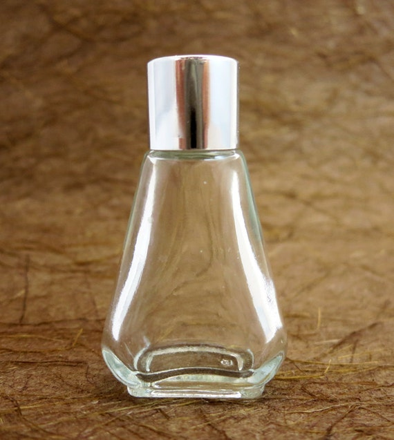 3pcs 30x50x20mm Clear triangle perfume Glass Bottle 10ml