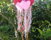 Heart Wand - Needle Felted