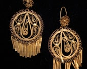 Mexican Filigree Earrings -- RESERVED FOR KAYLEE