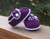 "button-up baby booties - 3 to 6 months - 4"" long"