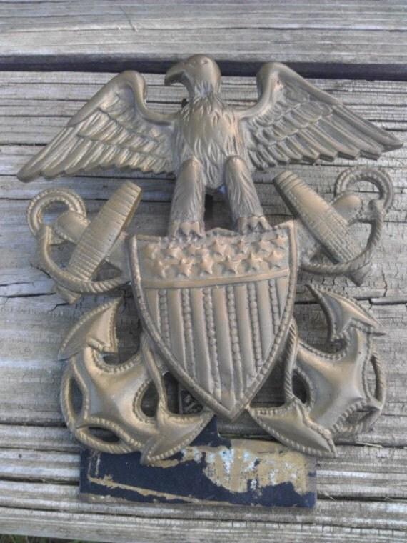 Vintage eagle nautical door knocker - Nautical door knockers ...