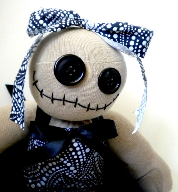 Zombie Rag Doll Ballerina Named Maizey