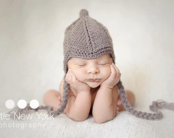 Newborn photo prop, Newborn/ baby original hat, photography props, newborn girl, newborn boy, newborn hat, newborn knit hat, baby hat, props