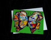Madam Butterfly Note Cards