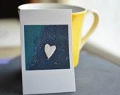 Asphalt Heart - Petite Print Photo