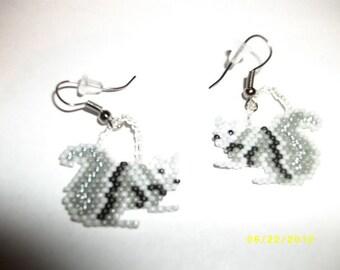 Squirrel Earrings  D