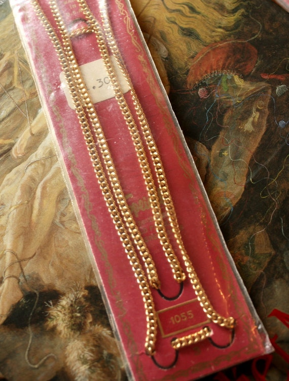 """Rare OLD Vintage Speidel 12KT GOLD Filled Chain Jewelers Stock - 20"""""""