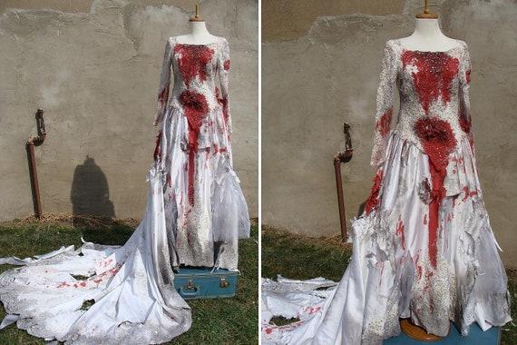 robe de mariee zombie