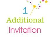 1 Additional Invitation