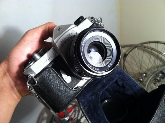 Vintage Pentax Spotomatic film Camera.