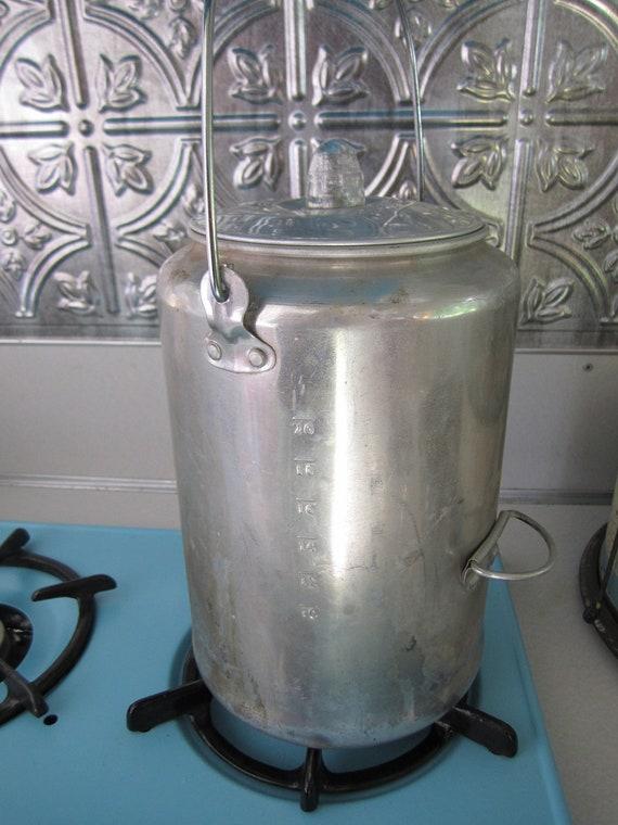 Vintage Perculator Coffee Pot Camper