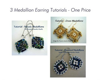 Earring Tutorial, Beaded Earrings, Seed Bead Tutorial, Earring Tutorial, DIY Earrings, Bugle Beads,